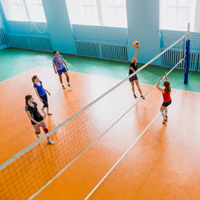 Volleyball room